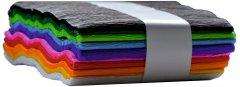 Набор креповой бумаги INTERDRUK MIX CLASIC из 10 цветов 200Х10 см (990527)
