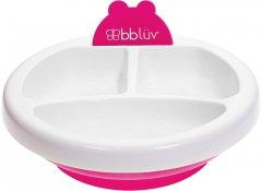 Тарелка для кормления Bbluv Platö с подогревом Розовая (B0107-P) (628451387909)