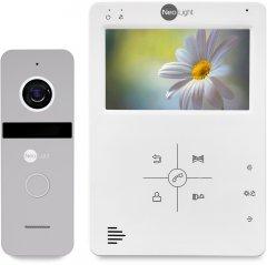 Комплект видеодомофона NeoLight TAU Kit Silver