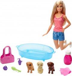Игровой набор Barbie Искупайте щенка (GDJ37)