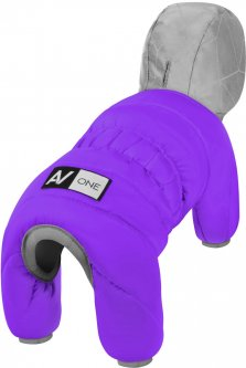 Комбинезон Collar AiryVest One для собак, размер XS 30 Фиолетовый (24139)