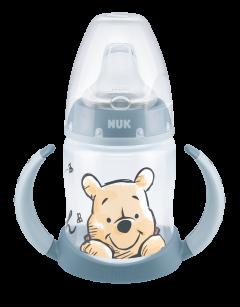 Поильник NUK Disney First Choice с ручками с силиконовой насадкой 150 мл Синий (4008600402350)