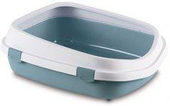 Туалет для кошек Stefanplast Queen 55 x 71 x 24.5 см Голубовато-стальной (8003507968608)