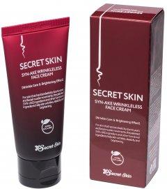 Крем для лица с пептидом змеиного яда Secret Skin Syn-Ake Wrinkleless Face Cream 50 г (8809540514464)