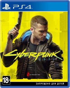 Игра Cyberpunk 2077 для PS4 (Blu-ray диск, Russian version)