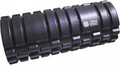 Массажный ролик для йоги и фитнеса Торос-Груп 14х33 см Черный (4820192752732) (TP-004Ч)