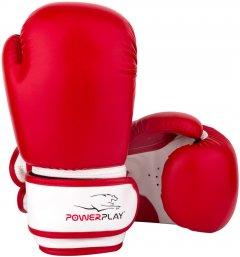 Перчатки боксерские PowerPlay 3004 JR 8 унций Красно-белые (PP_3004JR_8oz_Red/White)