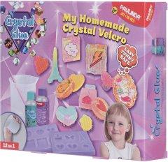 Набор для творчества Paulinda Crystal glue DIY Брошка 12 в 1 (PL-199640) (6930518997315)