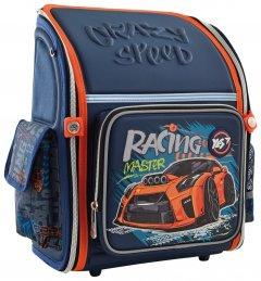Рюкзак школьный каркасный Yes H-18 Racing 0.95 кг 28х35х14.5 см 14 л (556321)
