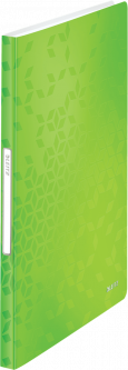 Папка пластиковая Leitz WOW А4 40 файлов Зеленая (4632-00-54)
