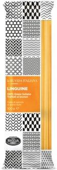 Макароны La Ruvida Linguine bronzo 500 г (8008857119052)