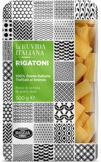 Макароны La Ruvida Rigatoni bronzo 500 г (8008857119243)