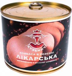 Колбаса вареная Кузьмичи Докторская 525 г (4820105100858)