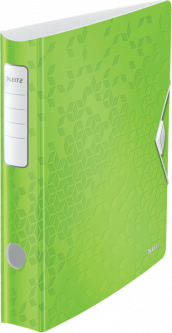 Папка-регистратор Leitz Active WOW 180° 65 мм Зеленая (1107-00-54)