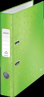Папка-регистратор Leitz WOW с механизмом 180° А4 50 мм Зеленый металлик (1006-00-54)