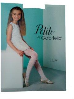 Колготки Gabriella Lila 150-158 см Белые