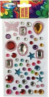 Декоративные наклейки Centrum Cristal 10 х 18 см (88071) (4030969880715)
