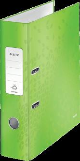 Папка-регистратор Leitz WOW с механизмом 180° А4 80 мм Зеленый металлик (1005-00-54)