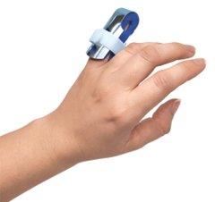 Ортез-шина для фаланги пальца руки с фиксацией Торос-Груп 502 размер 1 синий (4820192752664)
