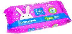 Упаковка влажных салфеток Baby Zaya Ромашка 4 пачки по 50 шт (2000525704627)