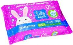 Упаковка влажных салфеток Baby Zaya Ромашка 5 пачек по 24 шт (2000525704658)