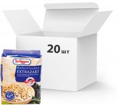 Упаковка овсяных хлопьев Bruggen Haferflocken Extrazarte из цельного зерна 500 г х 20 шт (4008713764307)