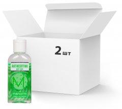 Упаковка антисептика для рук Manorm Манорм-гель 2 шт х 50 мл (ROZ6206101500)