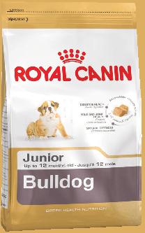 Royal Canin Bulldog Junior для щенков Бульдога до 12 месяцев 3 кг