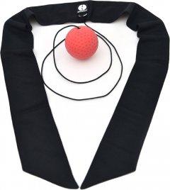 Мяч для бокса Onhillsport Fight Ball fighter тренажер универсальный с повязкой (FB-02)