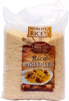 Рис World's Rice Paroiled длиннозернистый 5 кг (4820009100671)