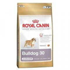 Сухой корм Royal Canin для щенков английского бульдога до 12 месяцев Breed Bulldog junior 3кг (3967030)