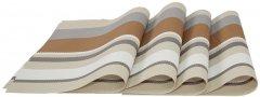 Набор сервировочных ковриков Supretto 45х30 см Серый (5065-0003)