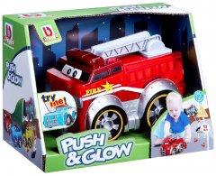 Пожарная машина BB Junior Push and Glow (16-89006)