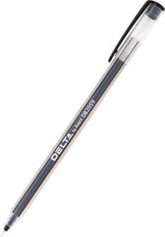 Набор ручек Delta by Axent масляных Черных 0.7 мм Прозрачный корпус 50 шт (DB2059-01)