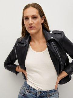 Шкіряна куртка Mango 87120522-99 XS (8445306231925)