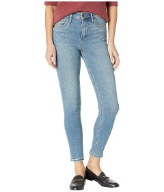 Джинси Sam Edelman Stiletto High-Rise Ankle Skinny in Markie Blue, Універсальний (10242710)