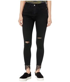 Джинси Bebe High-Rise Heartbreaker Jeans in Black Destroy Black, 4XL (US 26) (10319691)