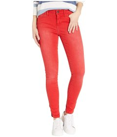 Джинси Sam Edelman Kitten Mid-Rise Ankle Skinny in Lollipop Red, Універсальний (10259258)