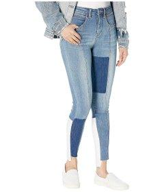 Джинси Bebe Patchwork Heartbreaker Jeans in Turlington Wash Unknown Color, 4XL (US 26) (10320740)