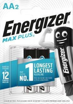 Батарейки Energizer AA Max Plus 2 шт (E301323003)