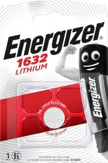 Батарейка Energizer CR1632 Lithium 1 шт (E300844102)
