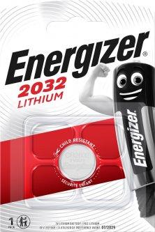 Батарейка Energizer CR2032 Lithium 1 шт (E301021302)