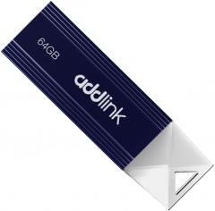 AddLink U12 64GB USB 2.0 Dark Blue (ad64GBU12D2)