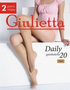 Гольфы Giulietta Daily Gambaletto 20 Den OS 2 пары Visone (4820040091402)