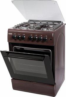 Комбинированная плита KLASS T 6408 E4 D.BROWN