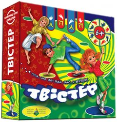 Настольная игра Київська Фабрика іграшок Твистер (4820121185297)