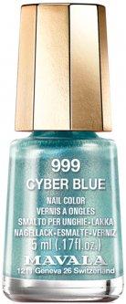 Лак для ногтей Mavala Тон 999 Cyber Blue 5 мл (7618900909991)