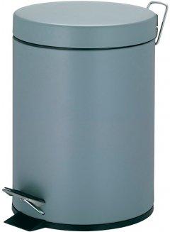 Ведро для мусора KELA Phil 5 л (22350) серый металлик