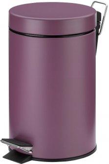 Ведро для мусора KELA Monaco 3 л (24294) фиолетовый металлик