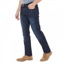 Джинси Kangaroo Poo Straight Fit Denim Belt With Dark Wash Dark Blue, 32W 34L (10402543)